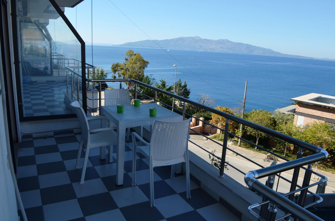 Apartments in  Saranda for Sale Next to the Sea