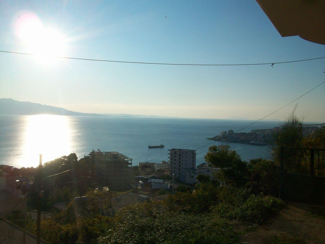 Mediterrán ingatlan Albániában. Befejezett apartmanok Saranda városában.