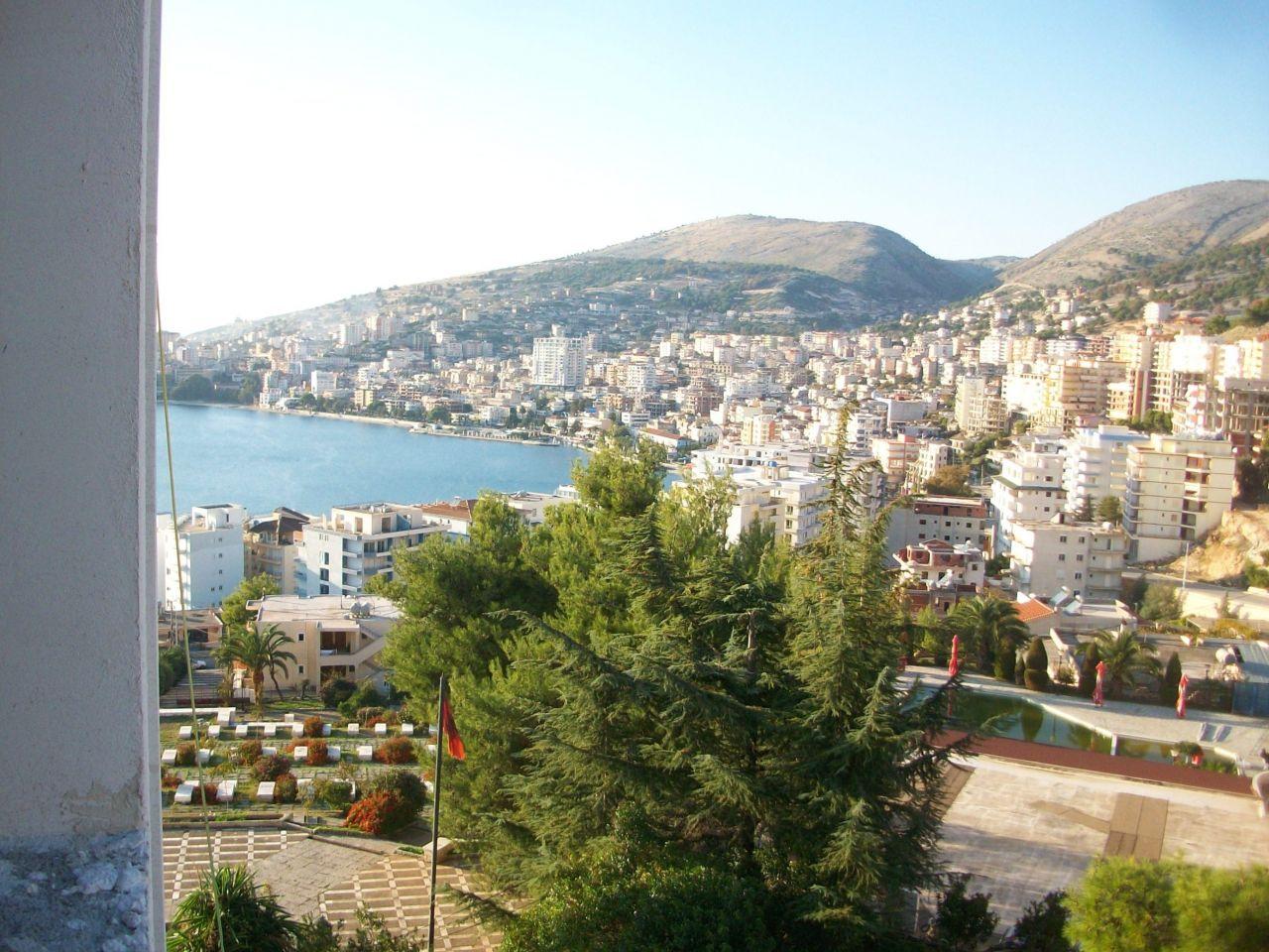 Eladó lakások Sarande. Tengerre néző lakás eladó Albániában.