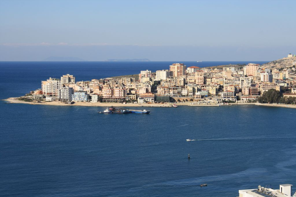 Albania Real Estate in Saranda. Sea view apartment for sale in Albania