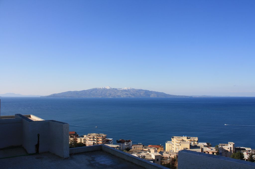 Apartments for sale in Sarande. Sea view apartment for sale in Albania.