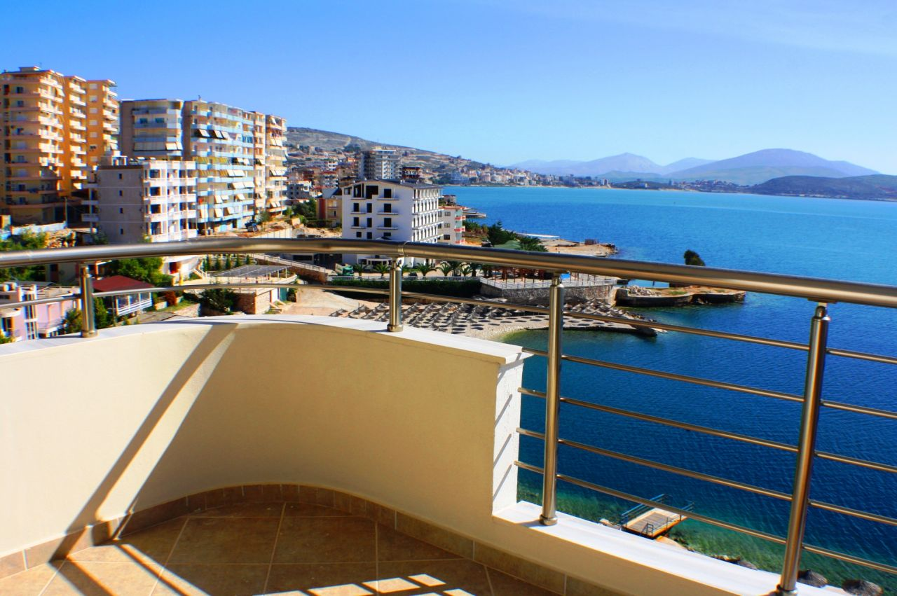 Apartments in Saranda. Completed Apartments in Beachfront.