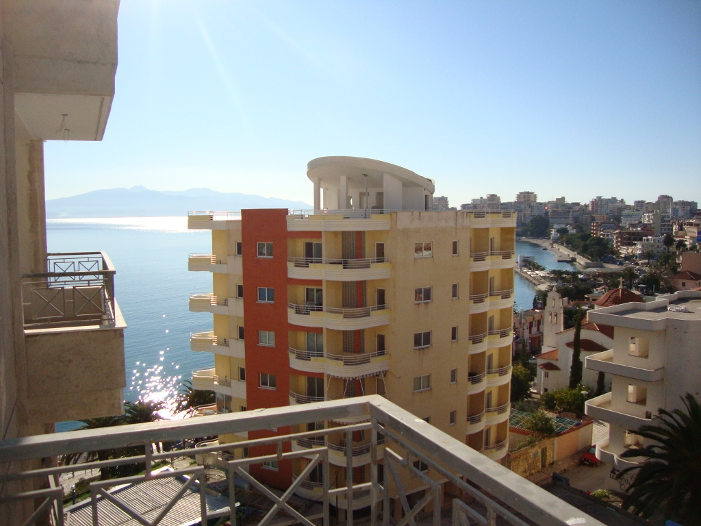 One bedroom Apartment for sale in Saranda. Apartment with seaview for sale in Albania.