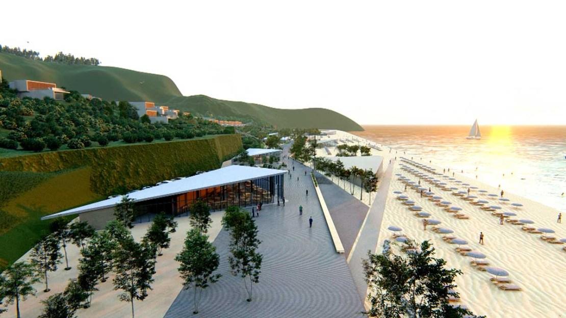 Albania Eiendom Villaer i Dhermi Nær Sjøen Green Coast Resort