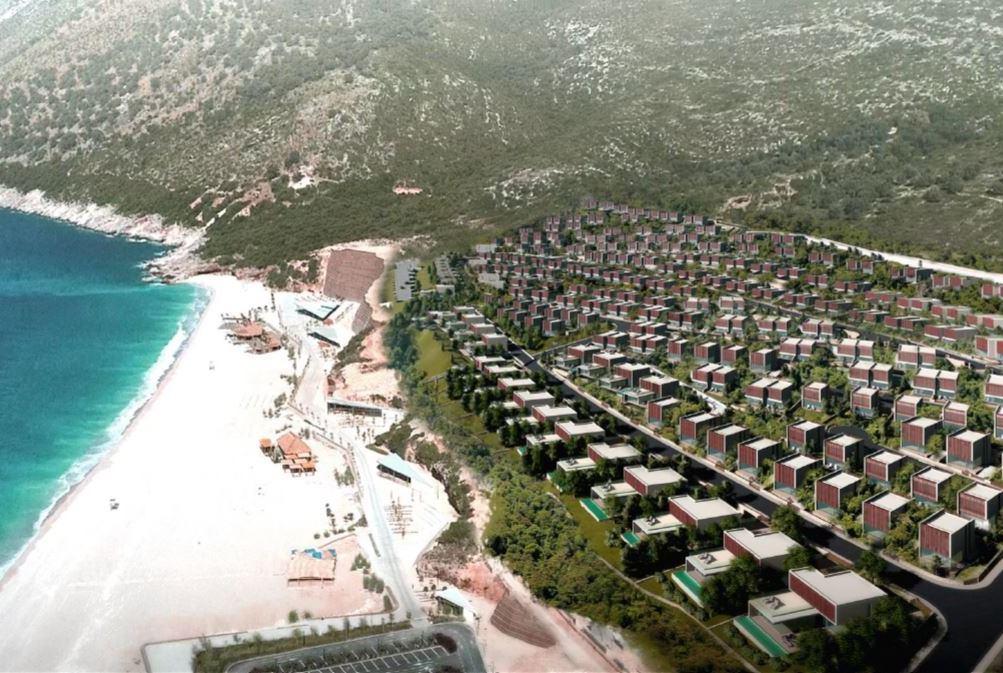 Albania Eiendom Villaer i Dhermi Nær Sjøen