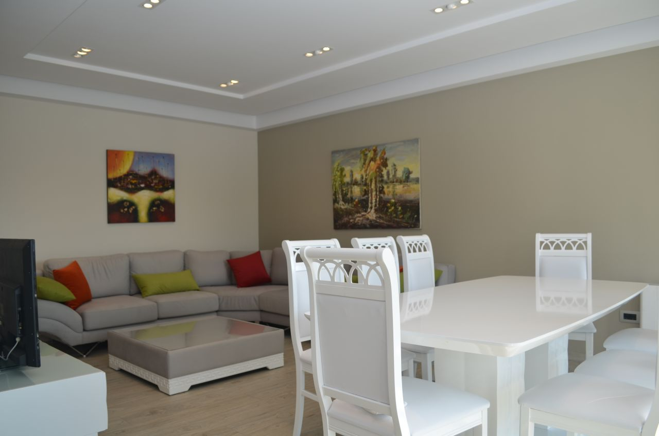 Apartment in Tirana for Rent. Spacious Apartment in Perfect Conditions