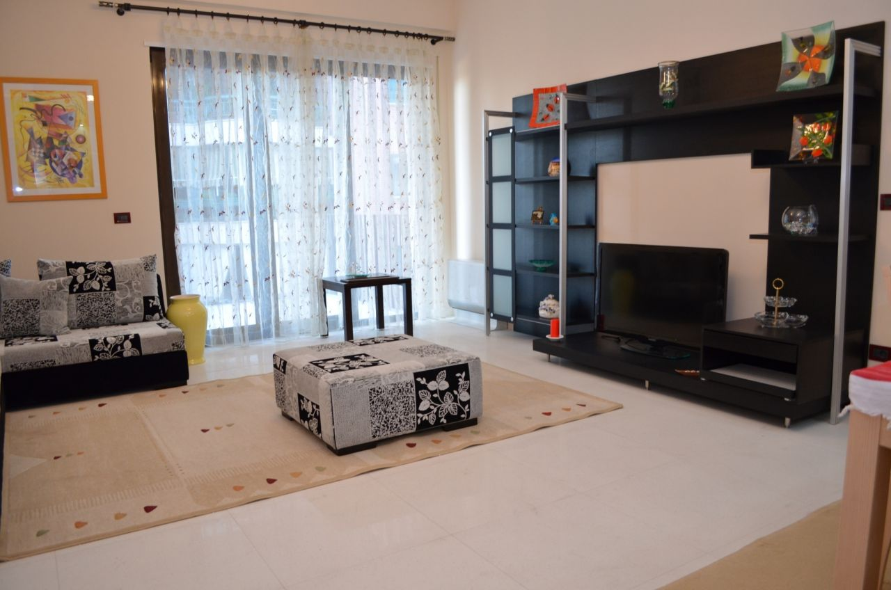 apartment for rent in Tirana in an excellent residence and very close to the National Park of Tirana