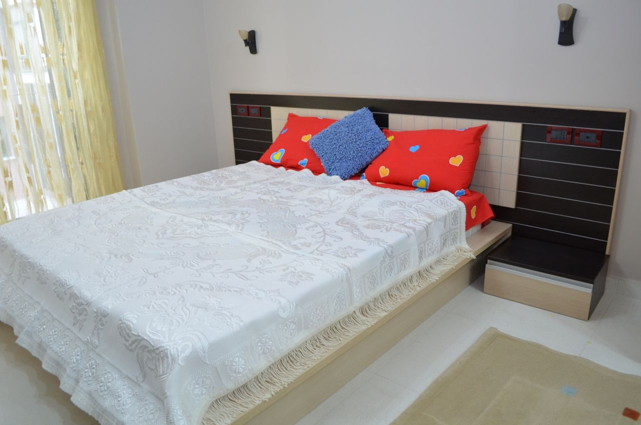 Two Bedroom Apartment Rent in Tirana. High Quality Apartment near the Park of Tirana