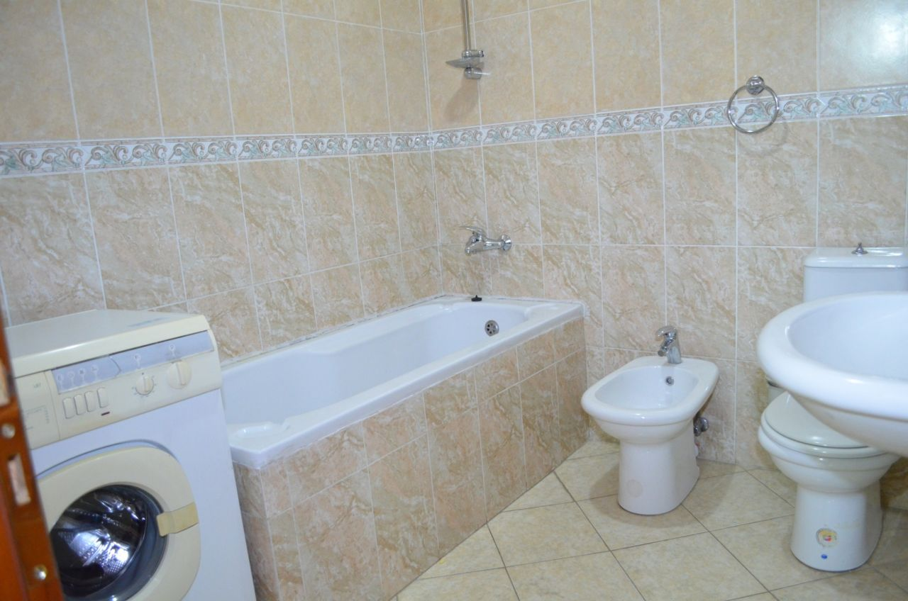 Furnished apartment for rent in Tirana, the capital of Albania.