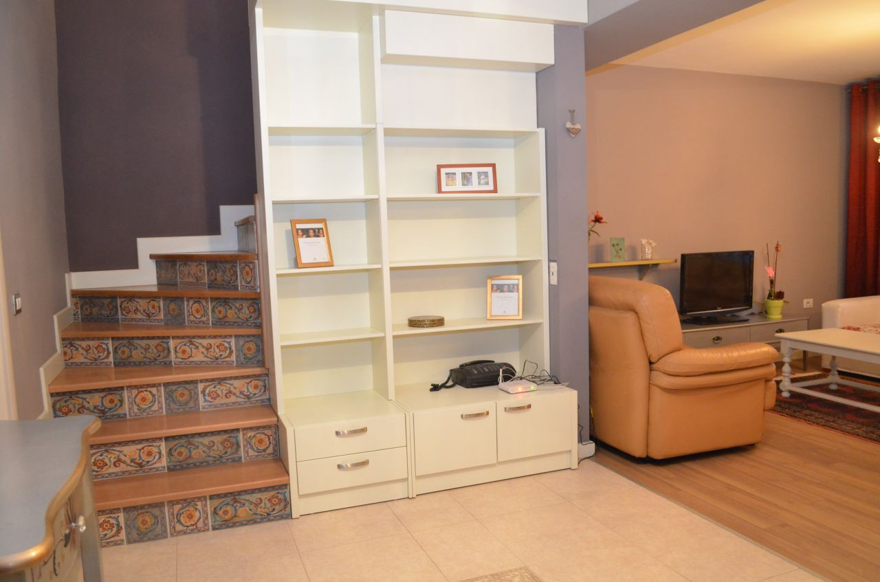 Very good quality duplex  apartment for rent in Tirana