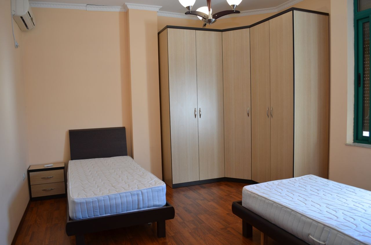 Duplex apartment for rent in Tirana, in Kavaja Street.