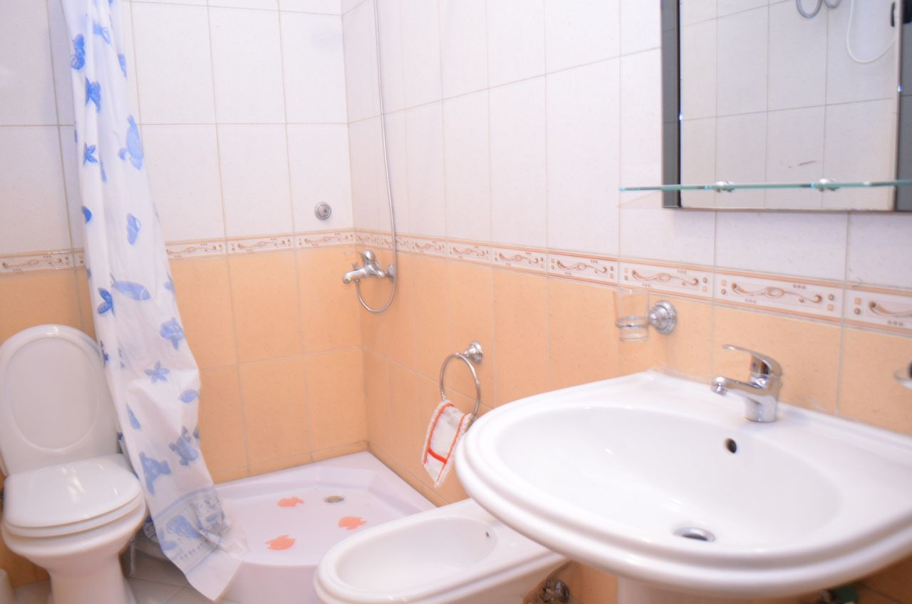 Apartament for rent in Tirana, near the Elbasani Street.