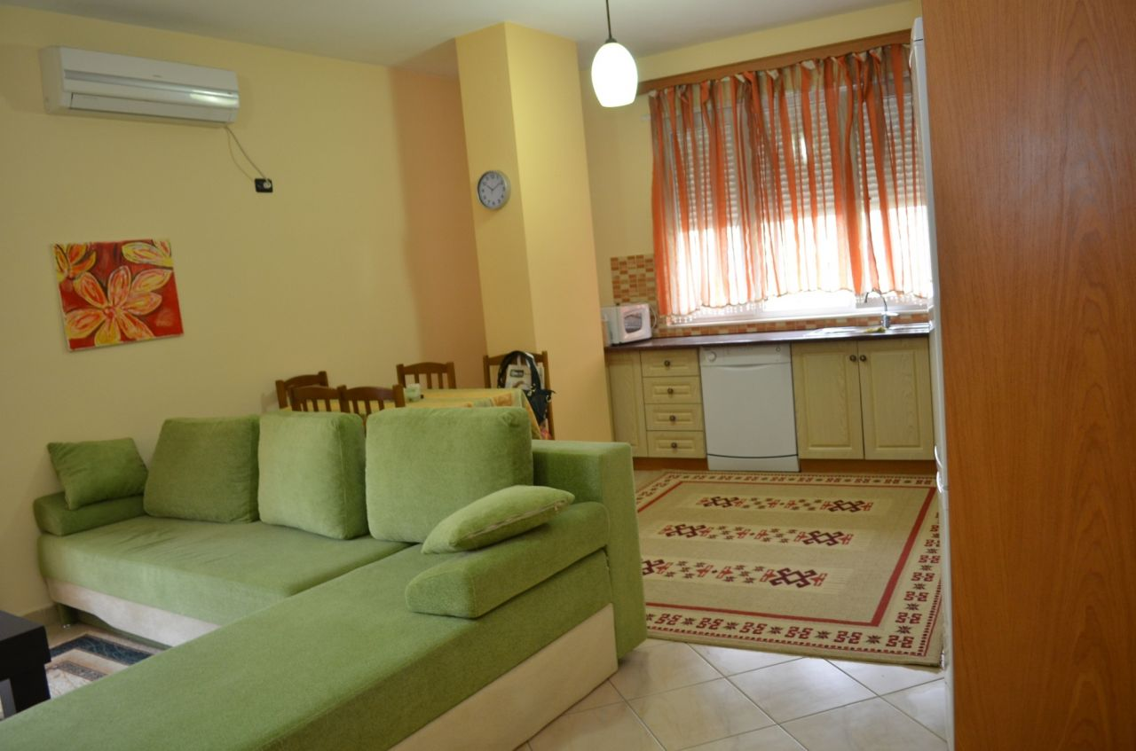 Tirana Rental.  Two Bedroom Apartment for Rent in Tirana, Albania.