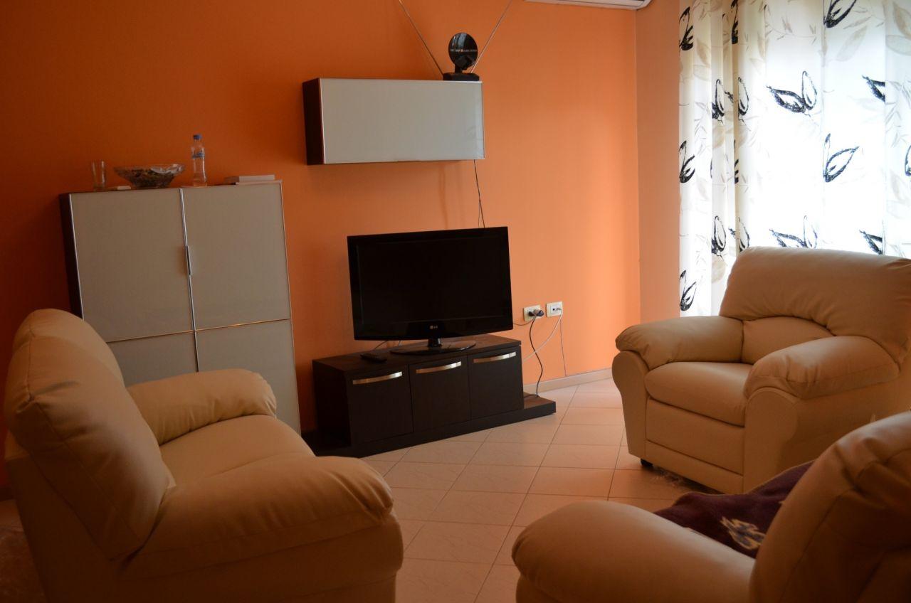 Tirana Rental. Two Bedroom Apartment For Rent in Albania, Tirana