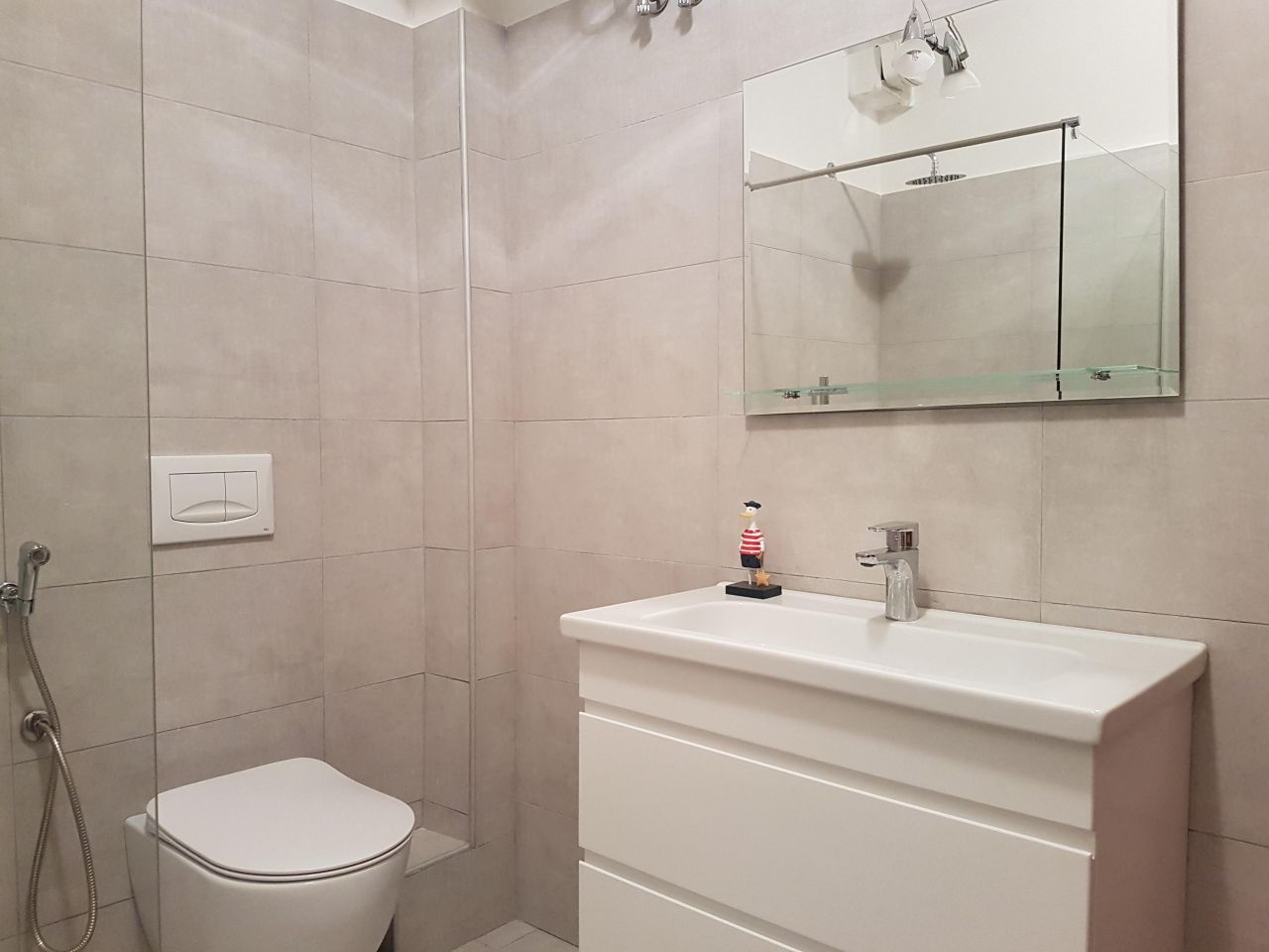 Furnished apartment for rent in Tirana, Albania's capital.