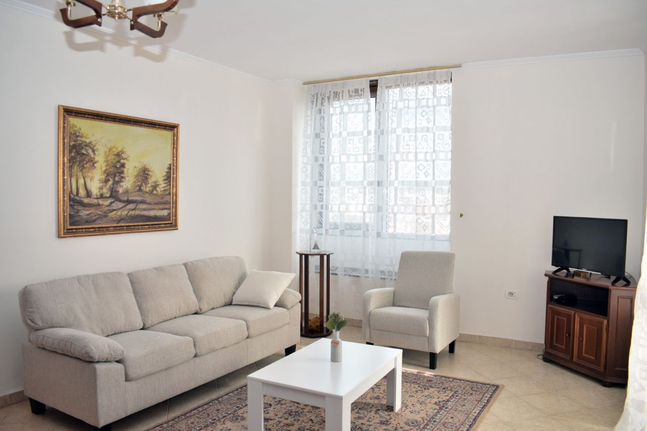 Apartment for Rent in Tirana.  Two Bedroom Apartment in City Center