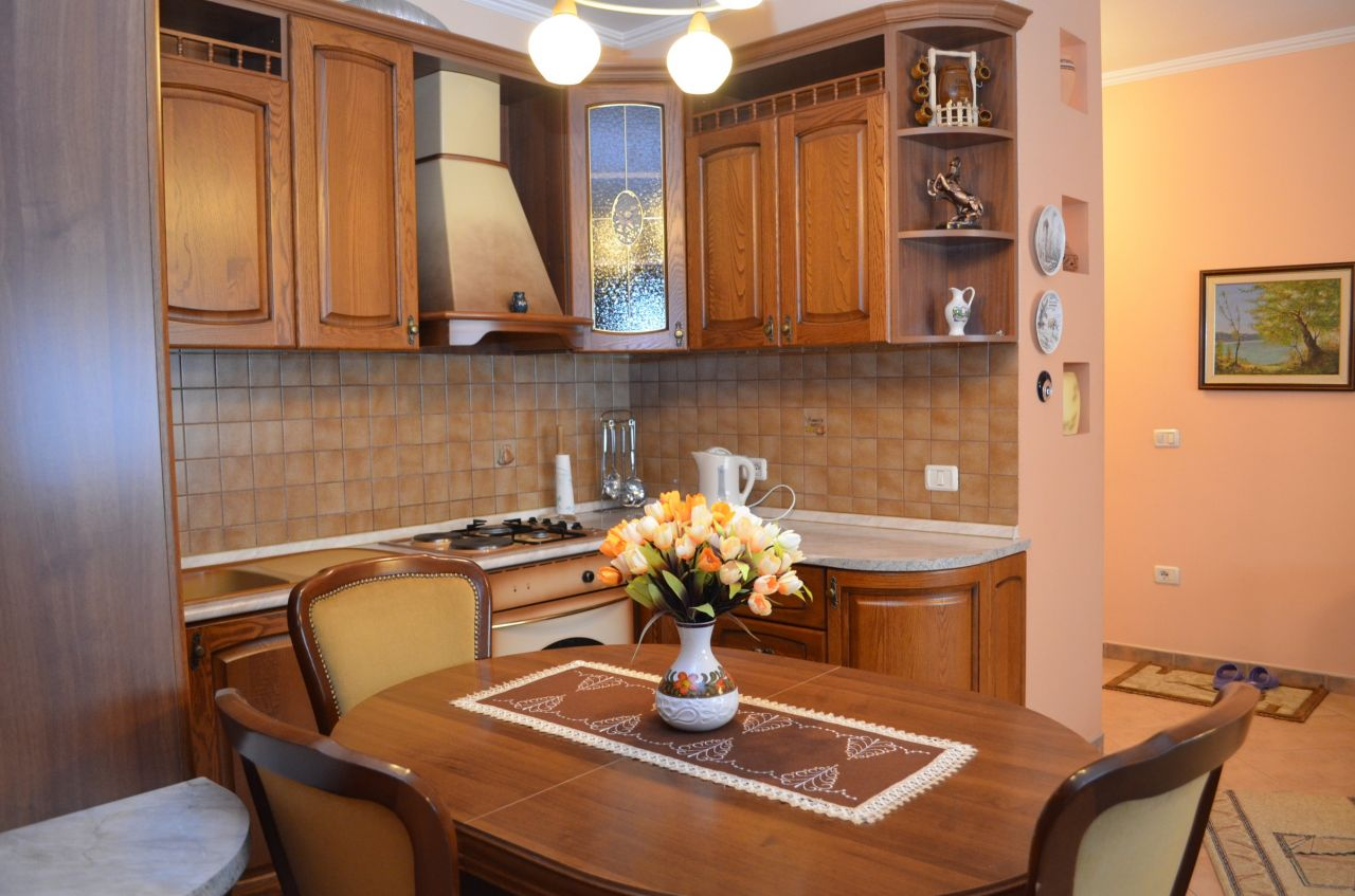 Two bedrooms apartament for rent in Tirana
