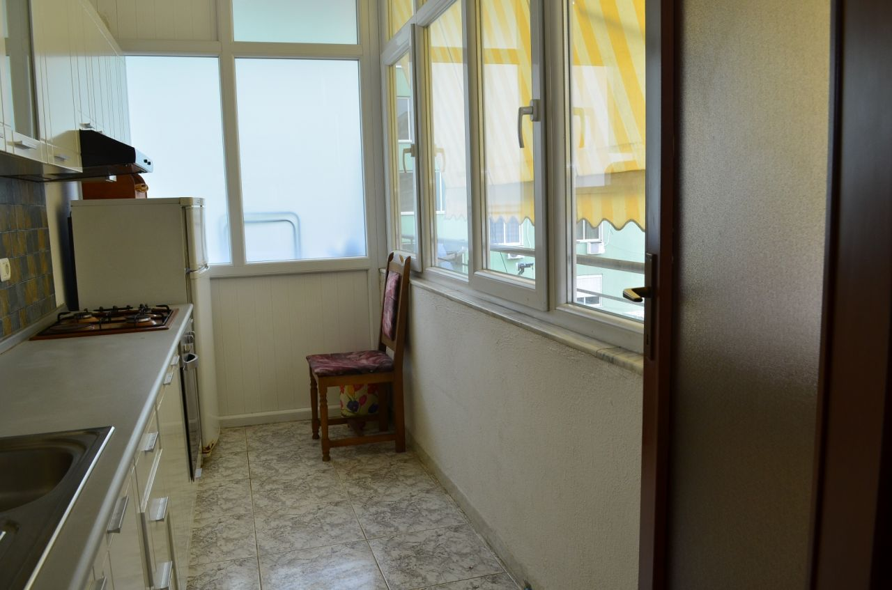 One bedroom apartment for rent in central position in Tirana