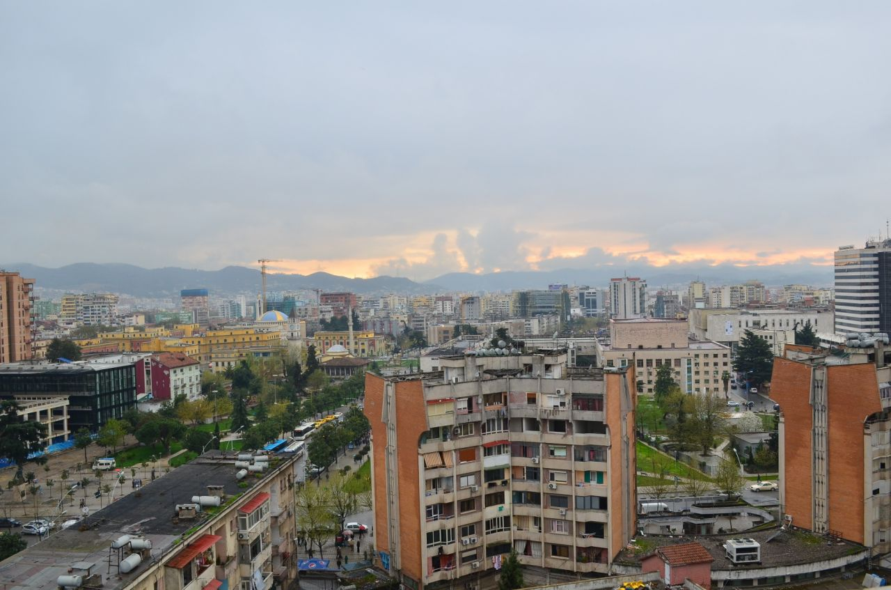 Apartament for rent in Tirana, Albania, with one bedroom.