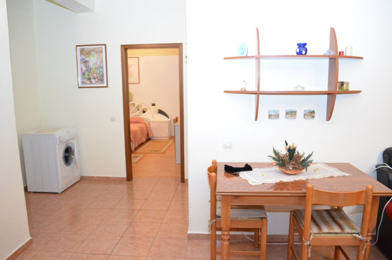 One bedroom apartment for rent in Tirana city, the capital of Albania.