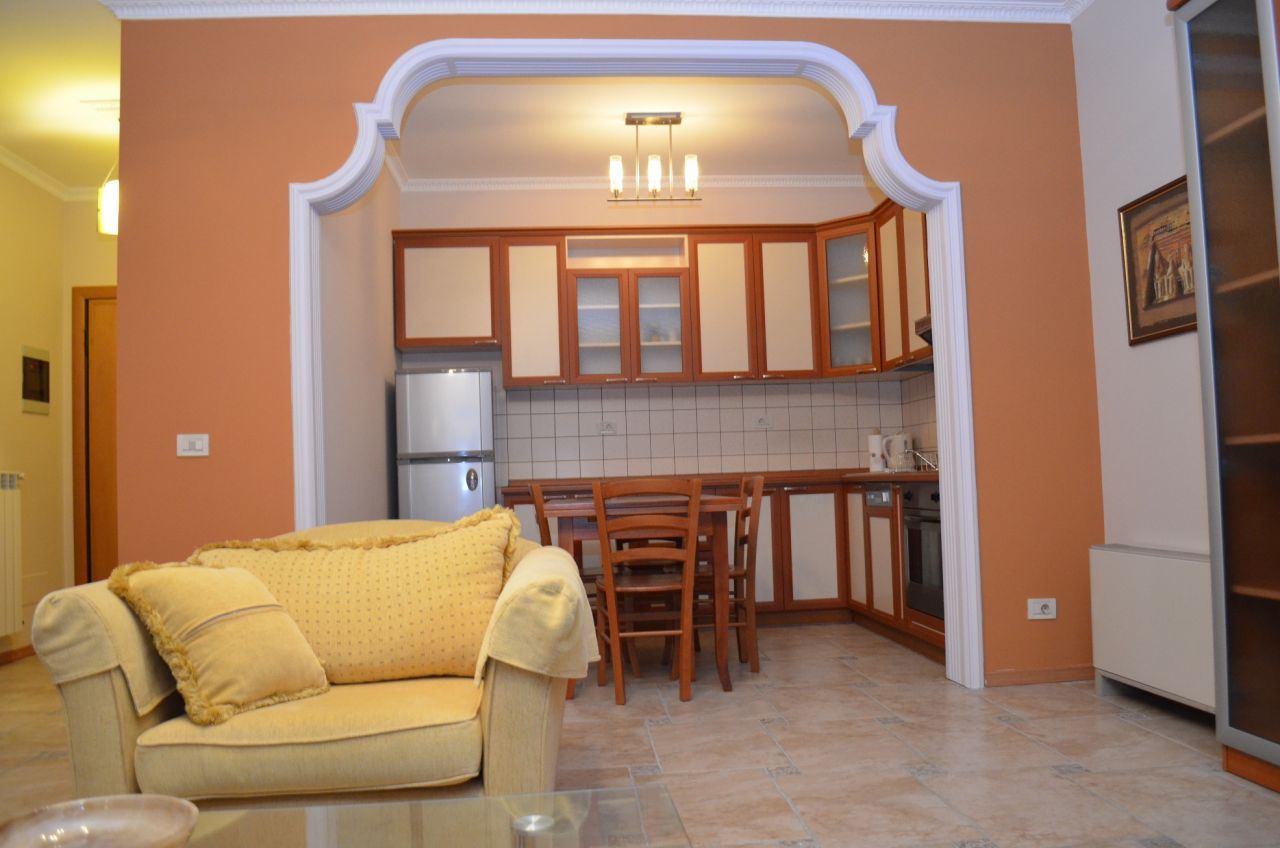 Rentals in Albania. One Bedroom Apartment for Rent in Tirana