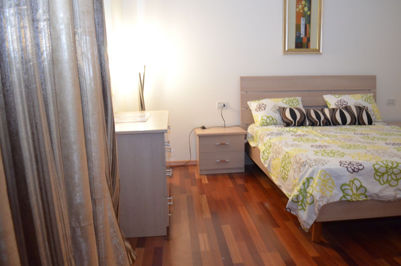Apartment for Rent in Tirana, with one bedroom.