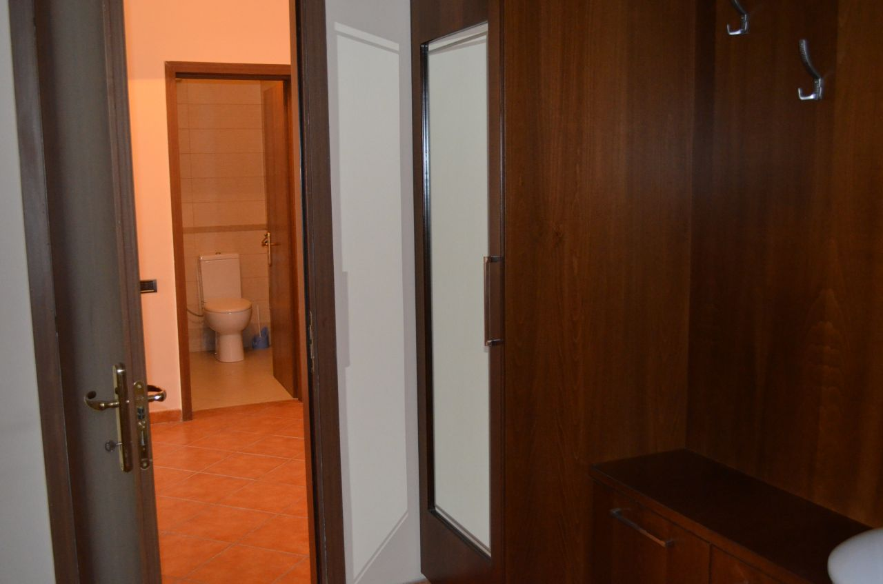 Two bedroom apartment for rent in Tirana, located in a very central area in the city.