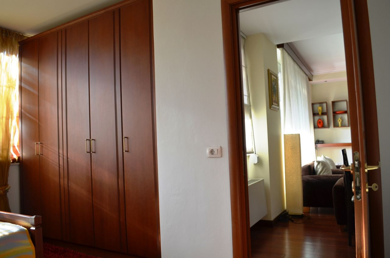 Two bedroom apartment for Rent located near Rruga e Elbasanit, in Tirana, Albania.