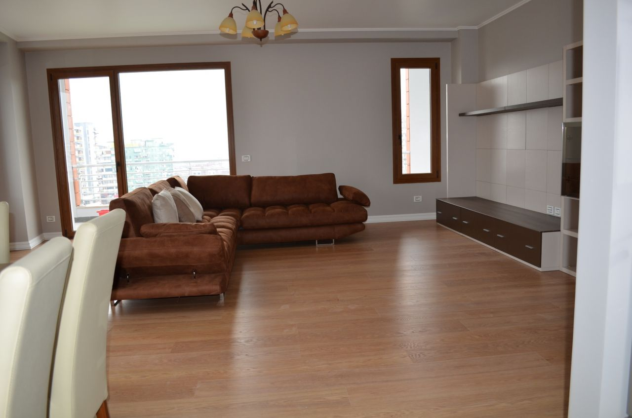 Excellent Apartment for Rent in Tirana with Three Bedrooms