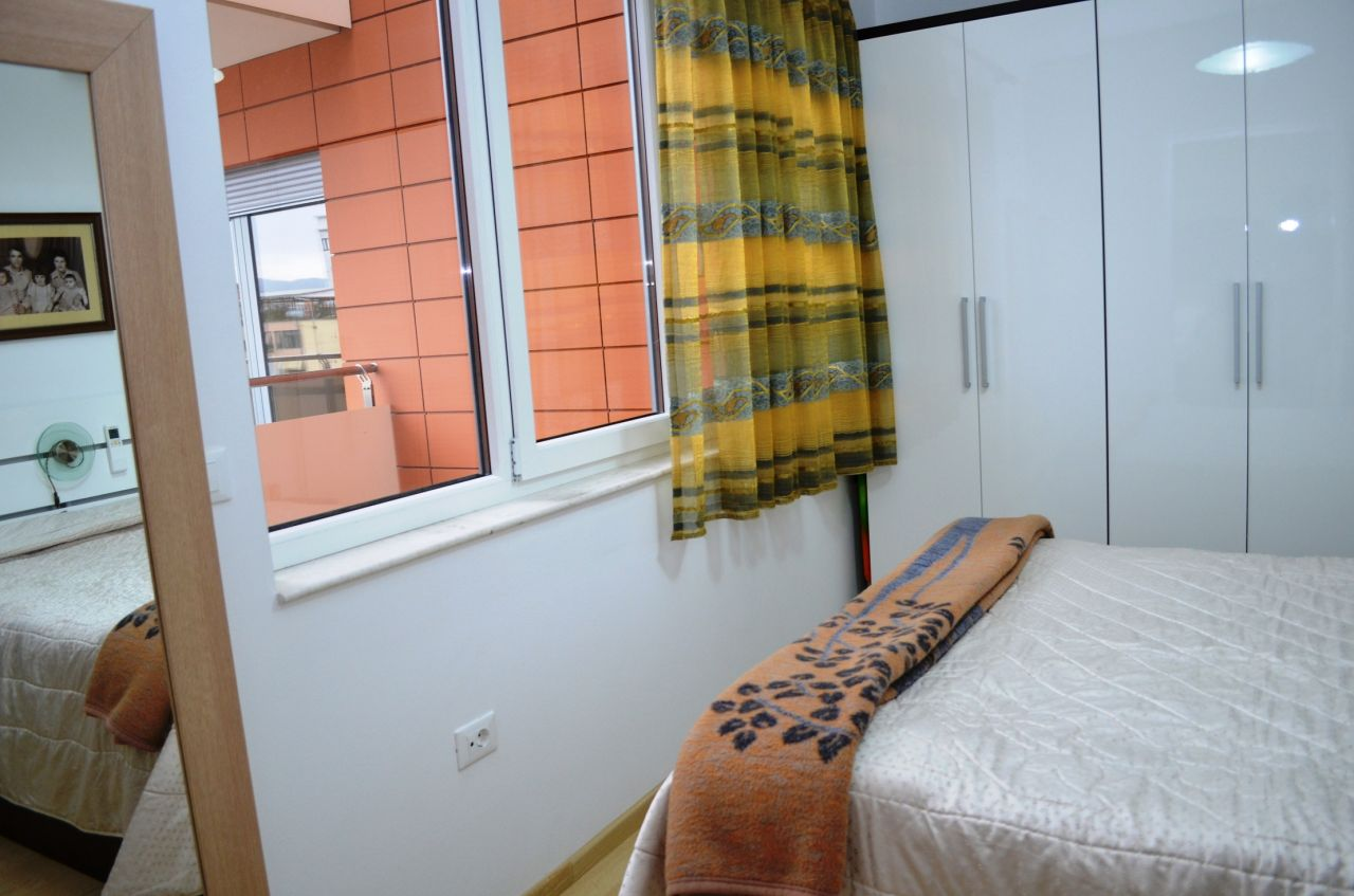 Apartment for rent in the center of Tirana, with one bedroom.