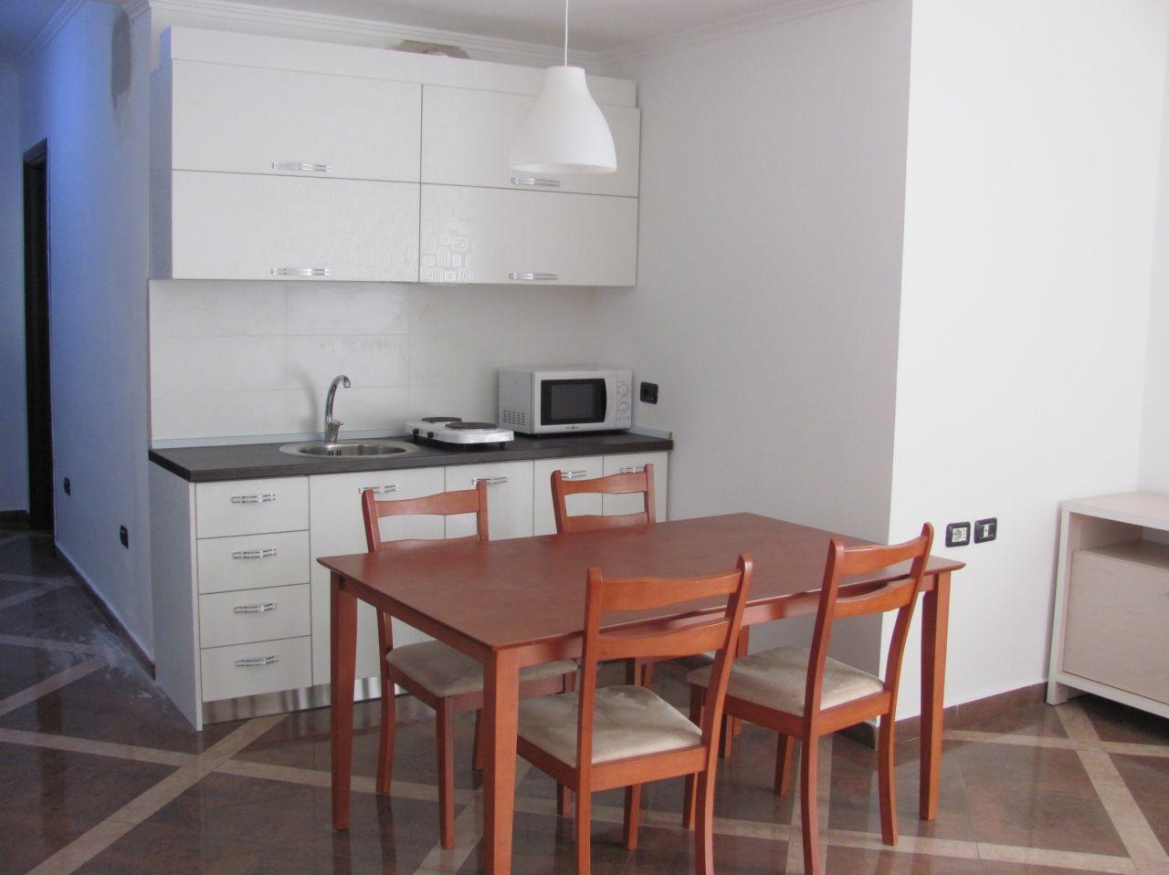 For Rent in Tirana. One Bedroom Apartment in Tirana near Rruga Kavajes