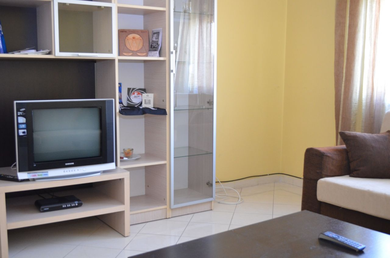 Apartment for rent in a very good area in Tirana. Located between Blloku and the Park.