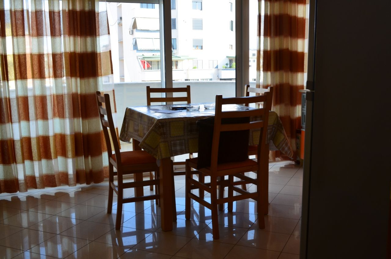 Apartment for rent in a very good position in Tirana.