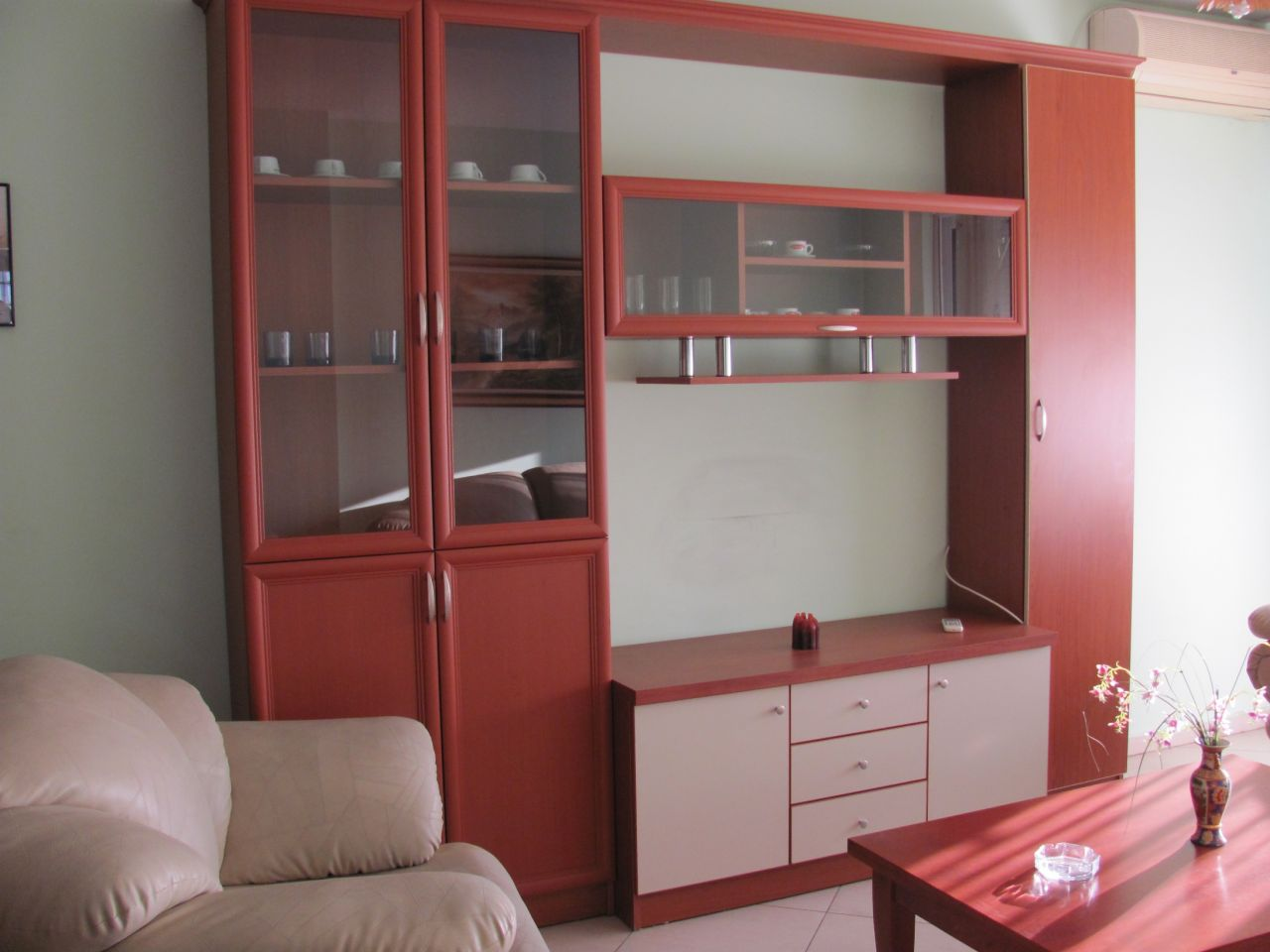 Apartment for rent in Tirana, situated near the Blloku area and the park of the lake.