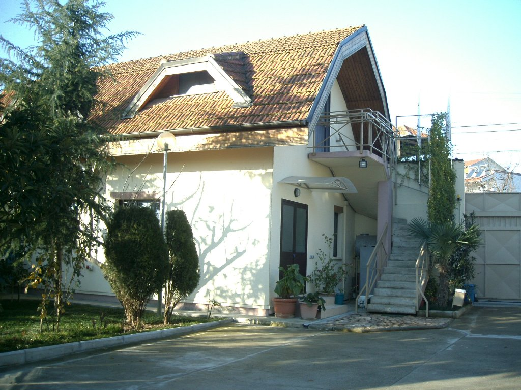 Property for rent in the outskirts of Tirana, Albania.