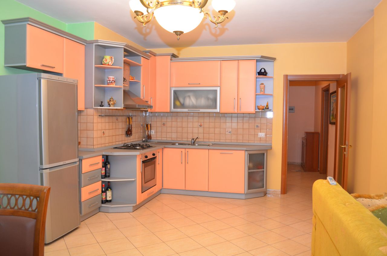 Apartment for Rent in Tirana, in Elbasani Street, close to the US Embassy