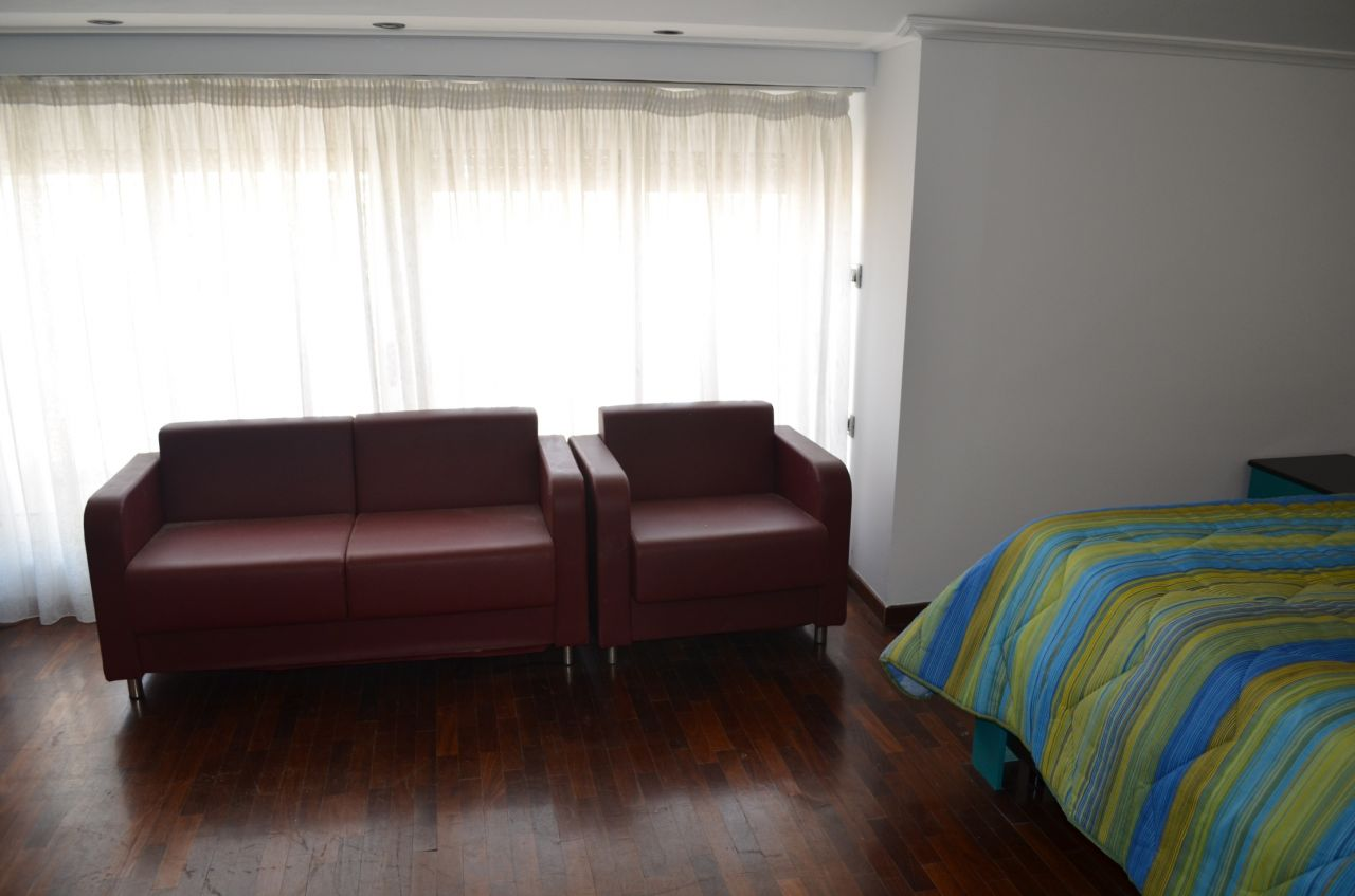 Penthouse for Rent in Tirana, the capital of Albania.