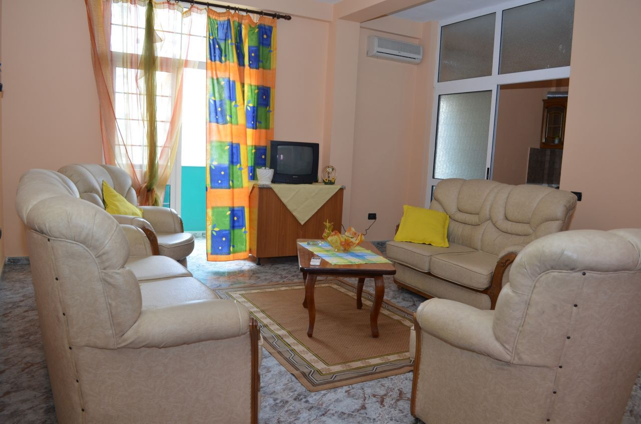 2 bedrooms apartment for rent in Tirana
