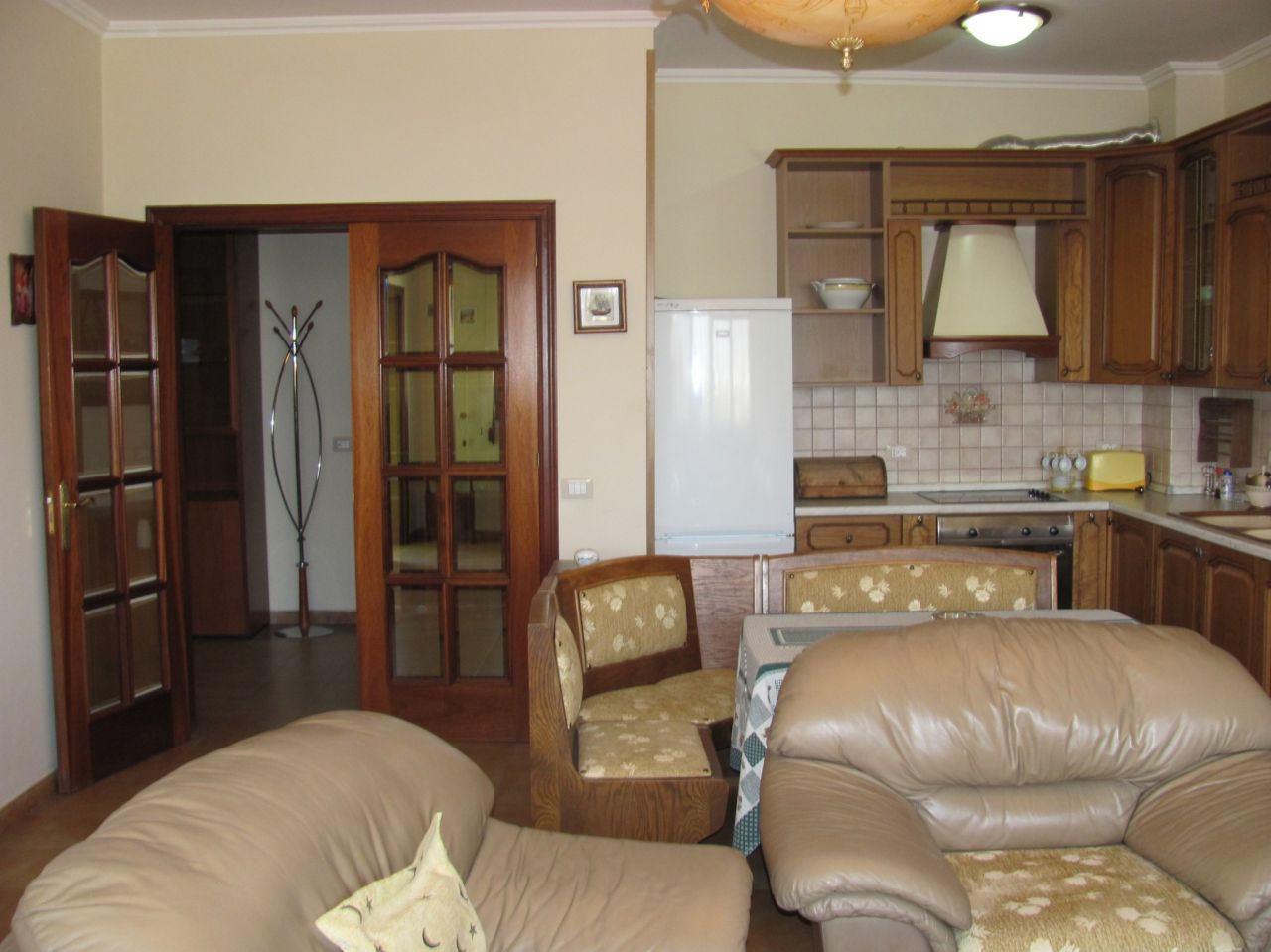 Nicely located apartment for rent in the capital of Albania, Tirana.
