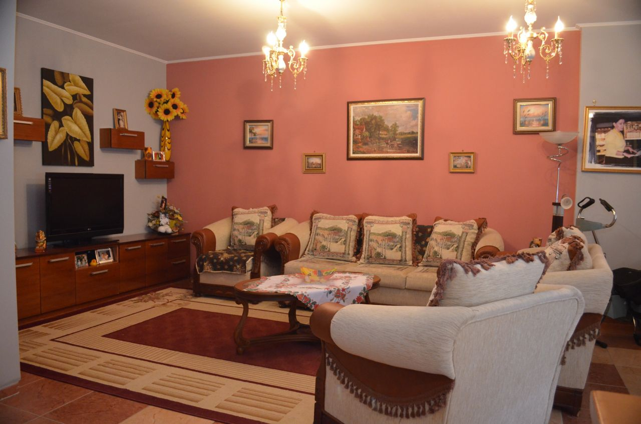 Apartment for rent in Komuna e Parisit, in the city of Tirana. Real estate offered by Albania Property Group.