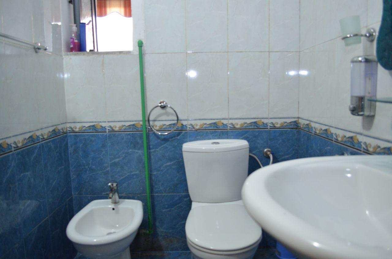 Apartment for Rent near Kavaja Street in Tirana, Albania. The apartment has one bedroom.