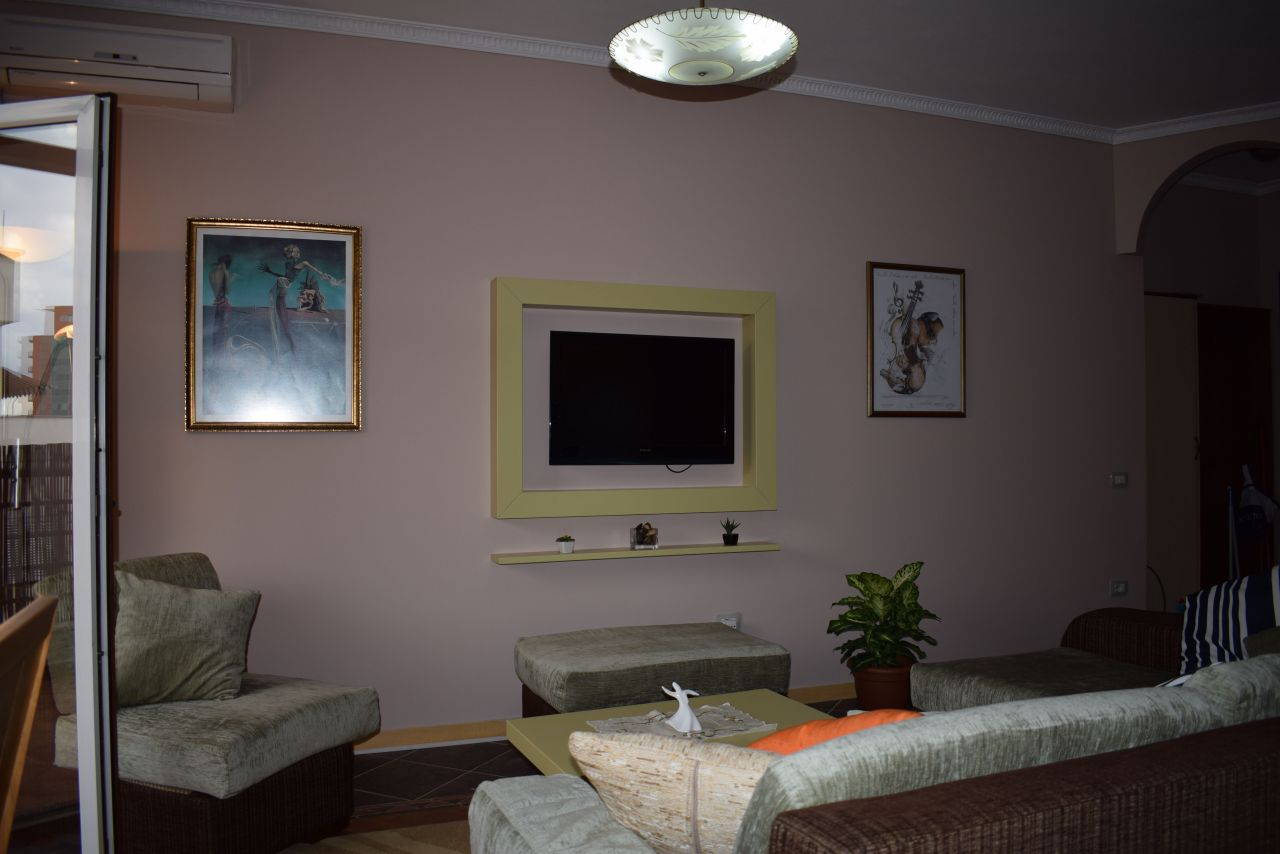 Fully furnished apartment with two bedrooms  for rent in Tirana