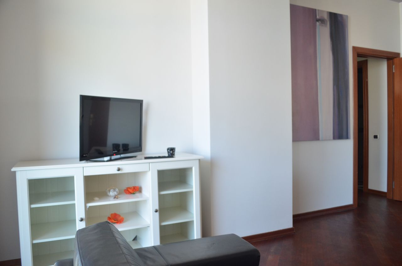 Apartment for rent in Tirana, in Abdyl Frasheri Street, with two bedrooms and high quality.