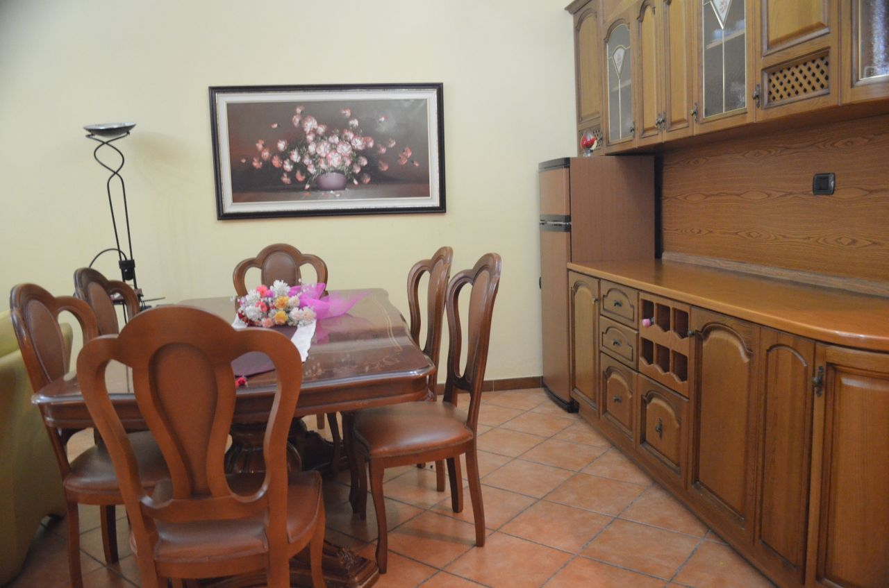 Fully furnished apartment for rent in the Blloku Area in Tirana, Albania.