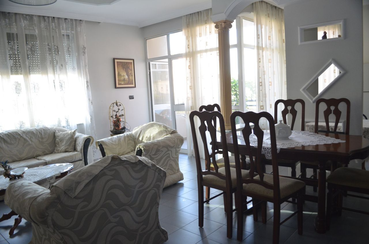 Apartment for rent in a very good area of Tirana, the Albanian capital.