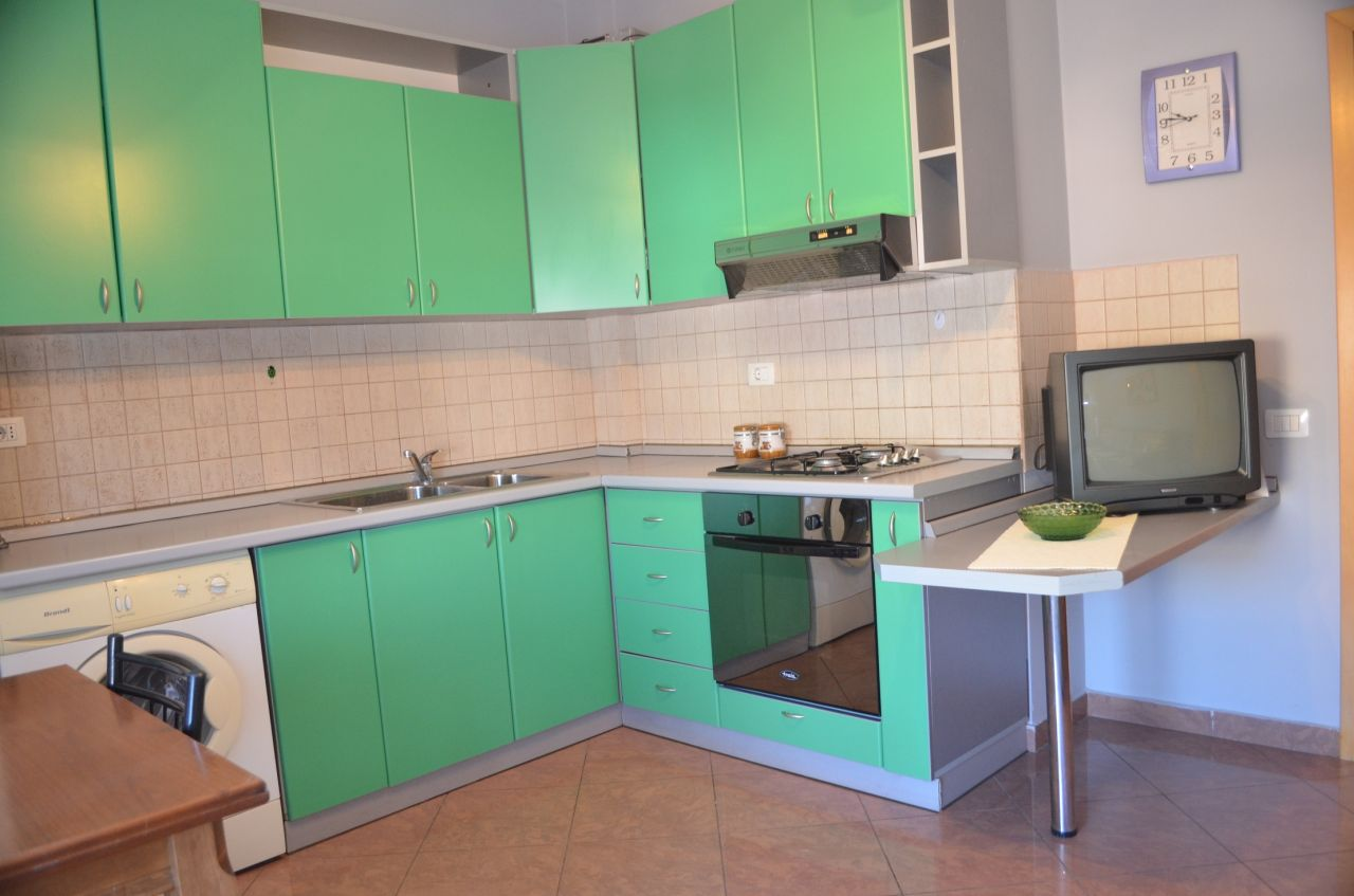 Albania Real Estate in Tirana, Apartment for rent with one bedroom