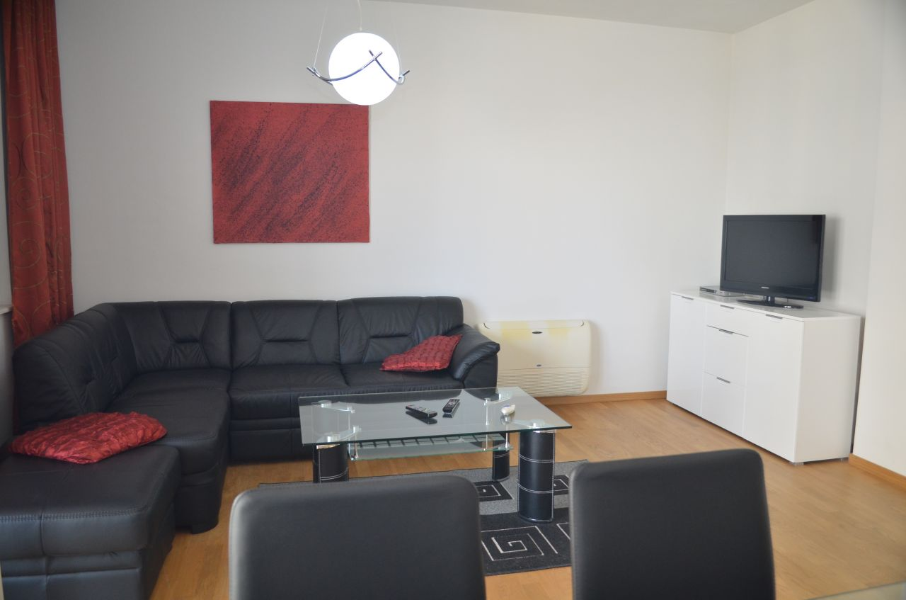 Apartment for Rent in Tirana. Albania Real Estate in Residential Complex