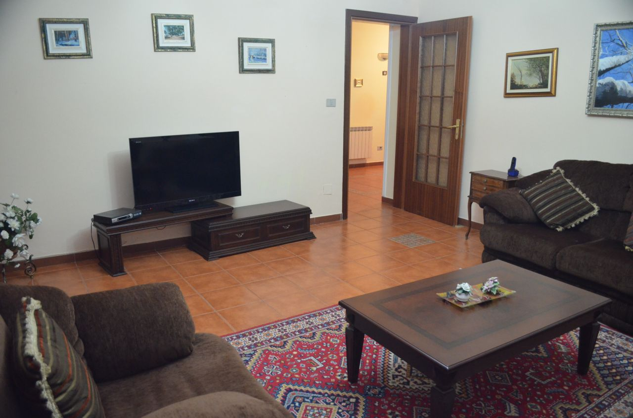 Apartment for Rent in Tirana Three Bedrooms