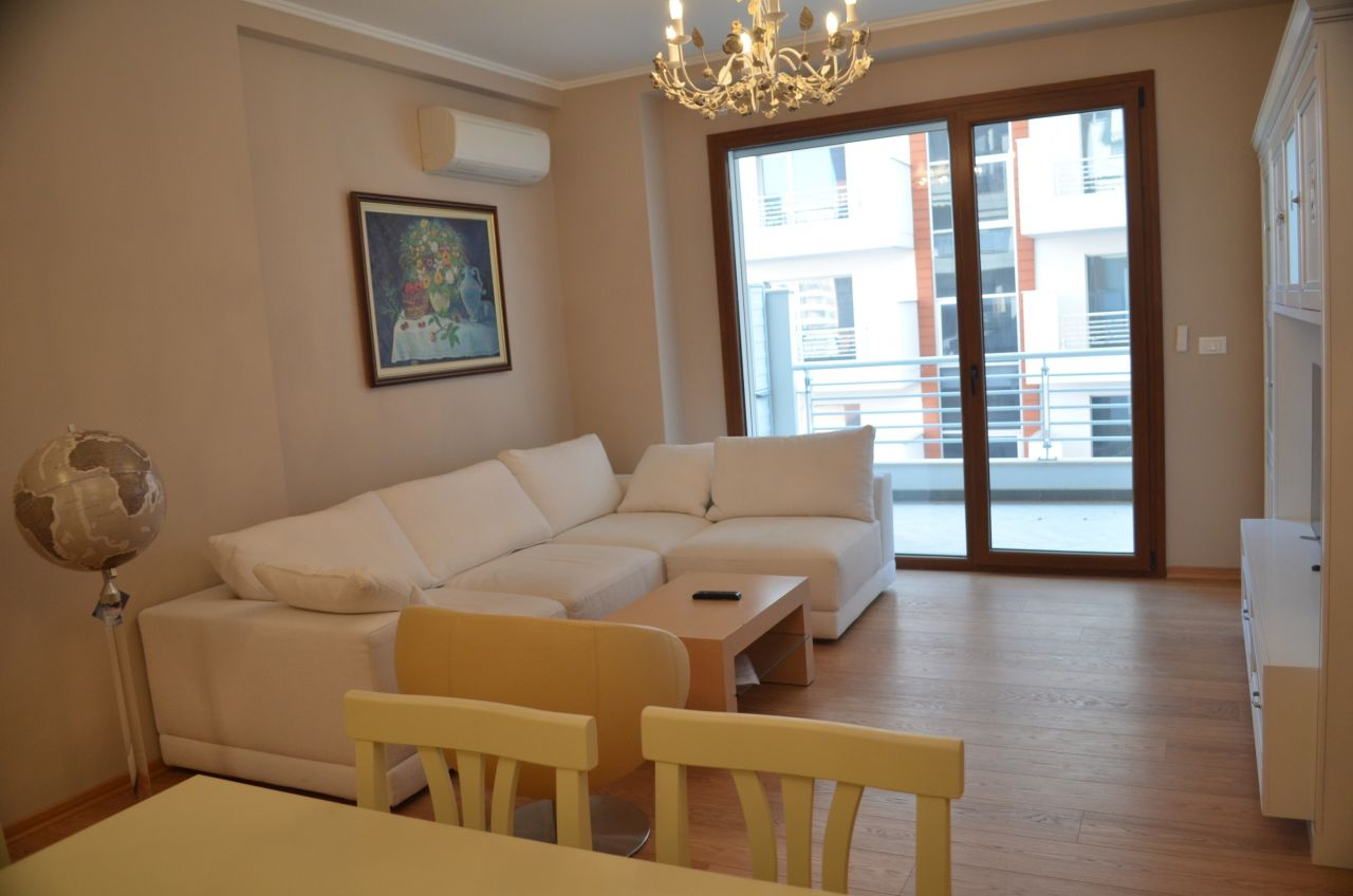 A two bedroom apartment for rent in the city of Tirana, the capital of Albania. The apartment is in very good conditions and in a good location.