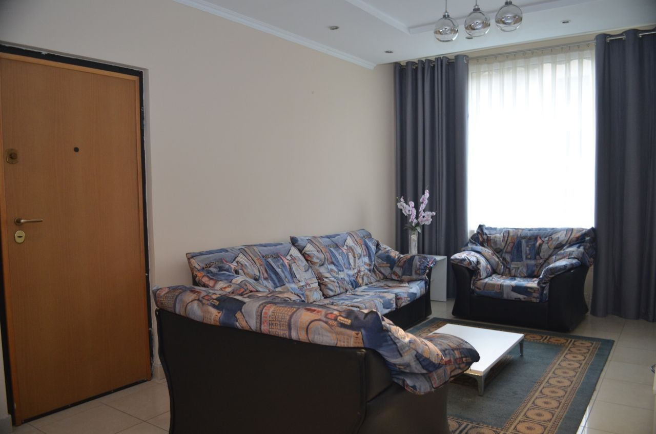 Apartment for Rent in Durresi Street in Tirana City, Albania. The apartment has two bedroom.